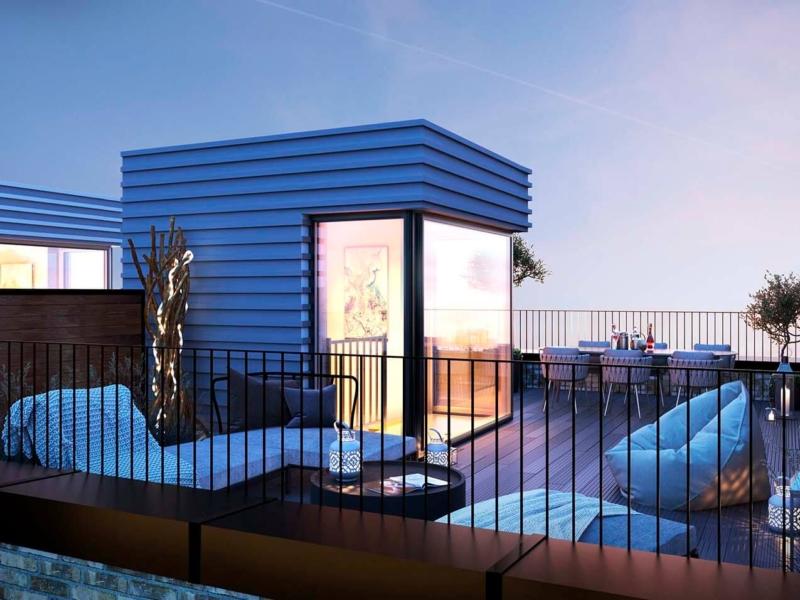 3D-Vizual | 3D Visualisering | Terrasse | PROJEKTSALG 12.1 - ELF DEVELOPMENT - AMAGER STRAND