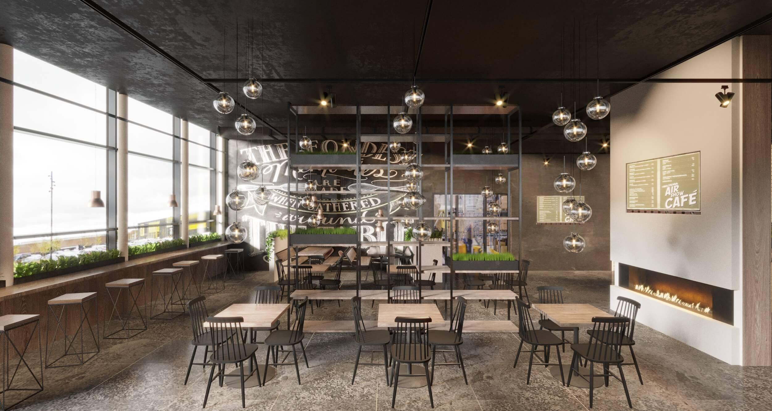 3D-Vizual   3D Visualisering   Cafe indretning   Hotel & Restaurant 3 – Cafe/Restaurant Company